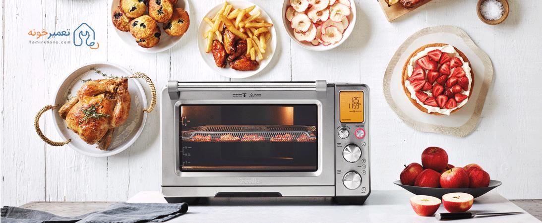 گرم نکردن غذا توسط مایکروفر های سامسونگ و ال جی